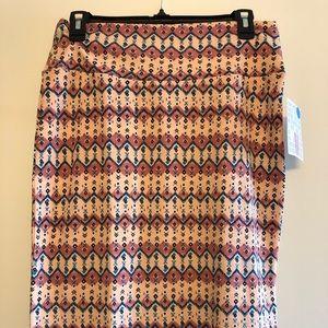 LulaRoe Cassie Skirt Size Medium